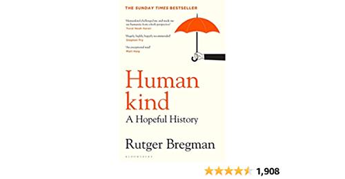Book cover Human kind 50plusonlinecafe